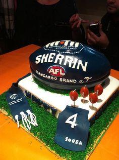Another cake idea! 5th Birthday, Birthday Parties, Birthday Cake, Carlton Football Club, Minion Cakes, Cakes For Boys, Decorated Cakes, Pretty Cakes, Cake Cookies