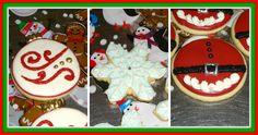Sugar Cookies 2014 #holidaybaking #sugarcookie #royalicing #decoratedcookies  www.heaveninhellcakes.com Holiday Baking, Royal Icing, Cookie Decorating, Sugar Cookies, Cake, Desserts, Food, Tailgate Desserts, Pie