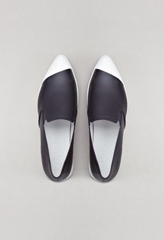Elwood shoes black finery london 01