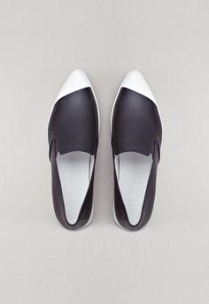 Elwood shoes black finery london | @andwhatelse