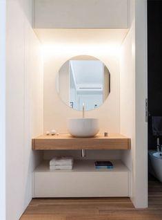Best Modern Bathroom Design Photos And Ideas - Page 4 Interior, Home, Bathroom Makeover, Shabby Chic Bathroom, Modern Bathroom, Bathroom Design, Bathroom Decor, Washbasin Design, Bright Apartment