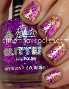 I have accepted the fact my glitter will never be this awesomely spontaeous, but a girl can dream.