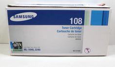 Samsung Black Toner Cartridge Genuine New Series 2240 Samsung, Toner Cartridge, Printer, Office Supplies, Personal Care, Ink, Store, Ebay, Black