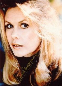 Everyone's favorite witch.  Elizabeth Montgomery as Samantha.  (Bewitched tv series)
