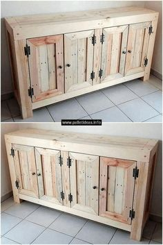 Versatile consolidated wood furniture projects her explanation Wooden Pallet Projects, Wood Pallet Furniture, Woodworking Projects Diy, Farmhouse Furniture, Furniture Projects, Furniture Plans, Rustic Furniture, Wood Pallets, Diy Furniture