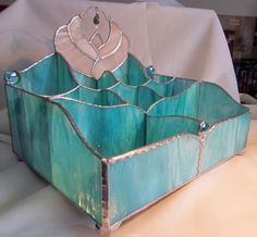 Lori Ann Vanity Box, original design, ooh all the compartments! Awesome!