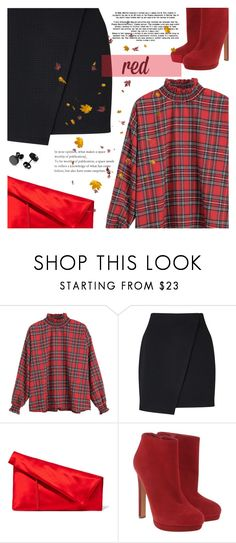 """""""Sans titre #1454"""" by clo-23 ❤ liked on Polyvore featuring Miss Selfridge, Diane Von Furstenberg and Alexander McQueen"""