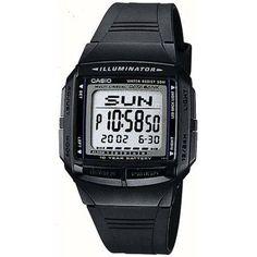 Casio 30 Databank Watch, Men's, Black