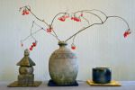 (1) Vessels [Gorinto, Higakimon Tsubo & Tenmoku Chawan] my work