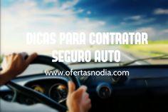 Ótimas dicas para contratar um bom seguro  para seu veículo. Confira orientações e promoções #ofertasdodia >>> www.ofertasnodia.com