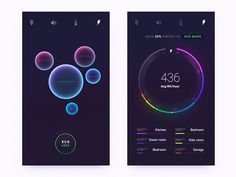 Energy infographic ideas for Smart Home Product by Gleb Kuznetsov✈