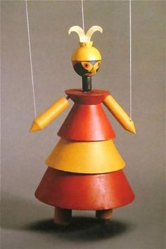 """""""Dr. Complex"""" Marionette from """"King Stag"""" 1918"""