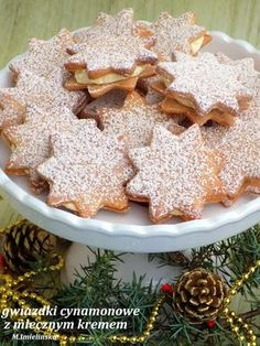Cake Recipes, Dessert Recipes, Polish Recipes, Polish Food, Christmas Cooking, Just Cooking, Holiday Baking, Cookie Decorating, Good Food