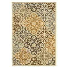 Lovell Indoor/Outdoor Rug - Love this by the front door so pretty.