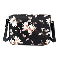 2016 New Fashion Women Floral Retro Leather Shoulder Bag Satchel Handbag (Black) - http://leather-handbags-shop.com/2016-new-fashion-women-floral-retro-leather-shoulder-bag-satchel-handbag-black/