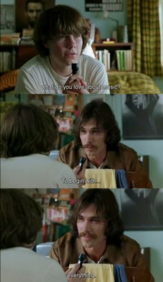 Absolutely the best movie ever!! ALMOST FAMOUS