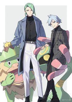 Pokemon Go, Pokemon Ships, Pokemon Comics, Cool Pokemon, Pokemon Games, Nintendo Games, Wallace Pokemon, Pokemon Steven Stone, Pokemon Cynthia