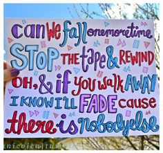 One direction song lyrics! ❤