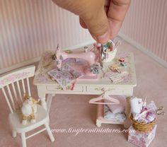 Tiny Ter Miniatures: costura