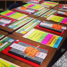 Suggestions for back to school night: School and the City: Open House (Meet the Teacher Night)