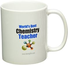 Lab Rat Gifts MUG0068 Ceramic Worlds Best Chemistry Teacher Mug -- Check this awesome product by going to the link at the image.