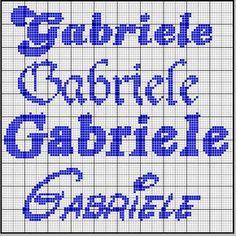 Gabriele Forum Cross Stitch Heart, Le Point, Alphabet, Writing, Creative, Hobby, Alice, Boy Names, Cross Stitch Letters