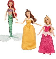 New Disney princess doll set