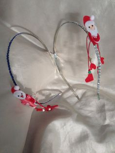 Childrens christmas headbands by Pinkorchidcrafts on Etsy