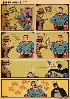Superman Picking on Batman | 8 Bit Nerds