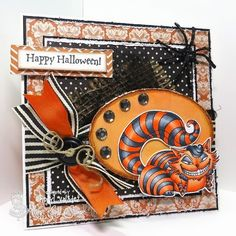 The Ink Trap: A New Challenge at Kraftin' Kimmie Stamps: Spooky Sweet!  Image is by Kraftin' Kimmie Stamps, colored with Copic markers.