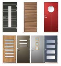 Image result for puertas de madera con vidrio