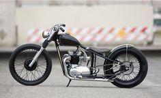 Triumph T100 1966 By The Factory Metal Works    ♠ http://hellkustom.blogspot.com/ ♠