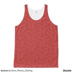 abstract All-Over print tank top #abstract All-Over #print #tank #top