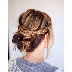 Coiffure sur cheveux mi longs facile a faire hiver 2015