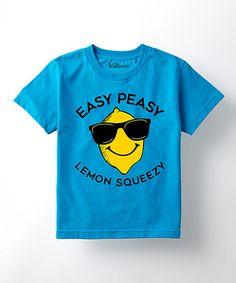 Easy Peasy Lemon Sqeezy kids sjirt