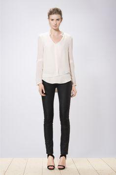 Miwa blouse white