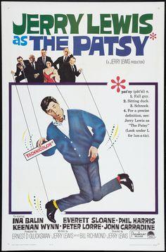 The Patsy (1964) Stars: Jerry Lewis, Ina Balin, Everett Sloane, Phil Harris, Keenan Wynn, Peter Lorre, John Carradine ~ Director: Jerry Lewis