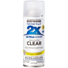 Buy Rust-Oleum 249087 Painter's Touch Multi Purpose Spray Paint, Matte Clear at Discounted Prices ✓ FREE DELIVERY possible on eligible purchases. Gloss Spray Paint, Spray Painting, Painting Metal Cabinets, Paint Paint, Paint Metal, Spray Paint Furniture, Painting Furniture, Furniture Makeover, Halloween Diy