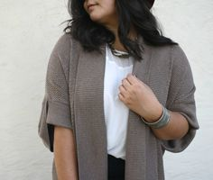 Chunky knit plus size sweaters :)