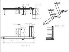 Plan for a DIY inkle loom - 6th grade handwork