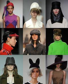 Hats. London Fashion Week trends autumn/winter 2012
