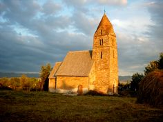 Strei Church, one of the oldest churces in stone in Tara Hategului, Romania
