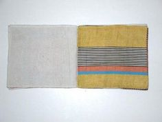 louise bourgeois, Ode á l'Oubli, fabric book