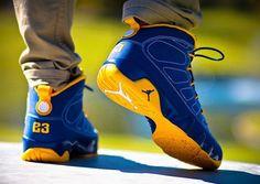 Air Jordan 9 Calvin Bailey Ⓙ_⍣∙₩ѧŁҝ! Air Jordan 9, Jordan 9 Retro, Air Jordan Shoes, Men's Shoes, Nike Shoes, Sneakers Nike, Sneakers Design, Gucci Sneakers, Men's Footwear