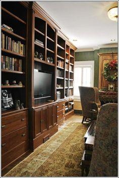Custom Made Custom Traditional Built-in Bookshelves by Turner Custom Furniture on CustomMade.com