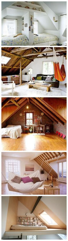 creative ways to finish off an attic area