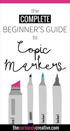 Are you just starting to get into using copic markers like I am? This Complete Beginner's Guide to Copic Markers is jam packed with all kinds of great information to help! Definitely worth saving - pin it now and refer back! Marker Kunst, Copic Marker Art, Copic Art, Copic Sketch Markers, Copic Kunst, Zentangle, Hidrocor, Copic Markers Tutorial, Inkscape Tutorials