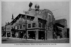 New Grand Central Theater, St Louis, Missouri -1913 by CharmaineZoe, via Flickr