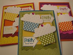 Stampin' Up Birthday Party this Way