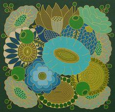 Blue Bouquet Archival inkjet printfine art high by MaryOMalleyArt